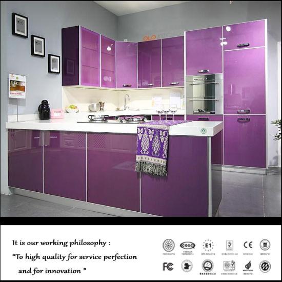 China Acrylic Kitchen Cabinet Acrylic Mdf Cabinet Door China