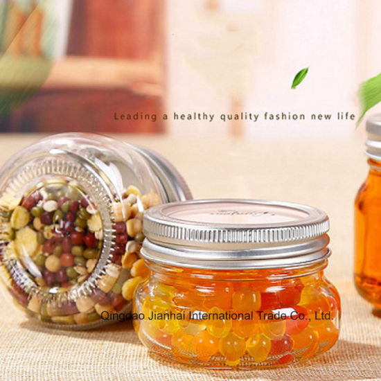 150ml&250ml Clear Glass Wide-Mouth Short Squatty Mason Jar pictures & photos