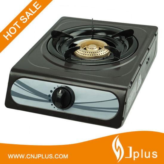 Easy Clean Cold Rolled Sheet Single Beehive Cast Iron Burner Gas Cooker Jp-Gc101t
