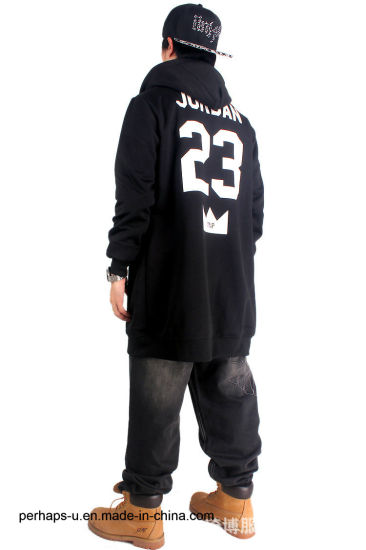 Men′s Casual Cardigan Long-Sleeved Sweater with Hip- Hop Style pictures & photos