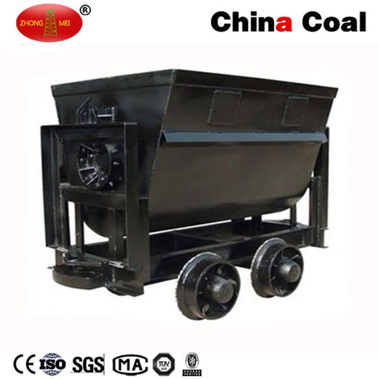 China Coal Group Kfu Series Bucket-Tipping Mine Car pictures & photos
