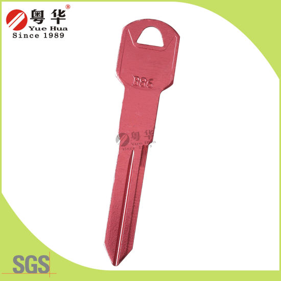 Titanium Blank Key for Auto Car