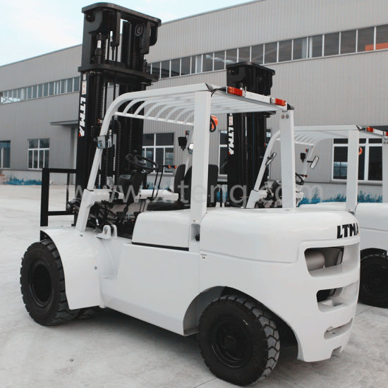 China Forklift Double Front Tires Opitional 5t Diesel Forklift pictures & photos