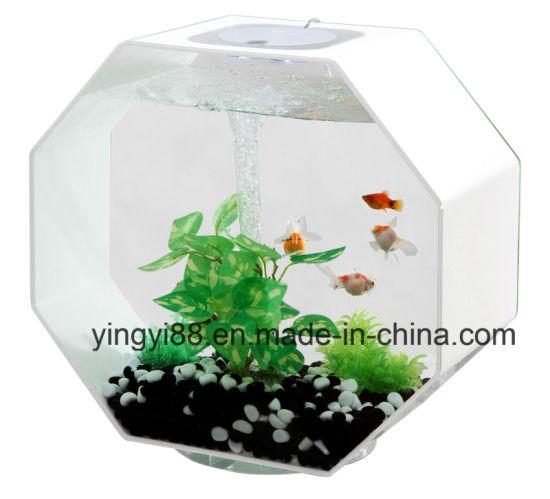Custom Octagon Shaped Acrylic Fish Tank