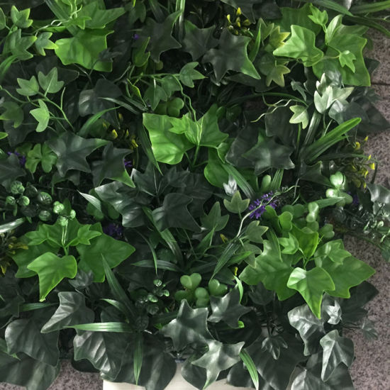 china uv protected artificial plant leaves panels green wall