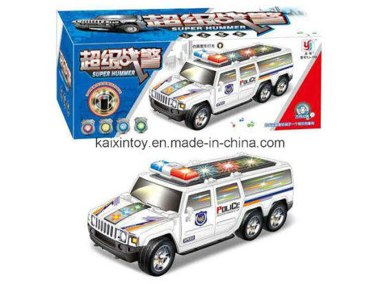 Battery Operated Flashing Car with Light and Music for Kids pictures & photos