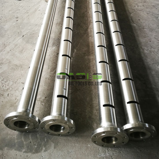 Metal Pipe with Slotted Name Is Slotted Pipe for Oil Filter pictures & photos