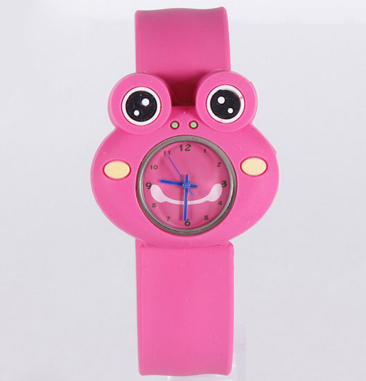 New Design Eco-Friendly Frog Shaped Slap Watch pictures & photos