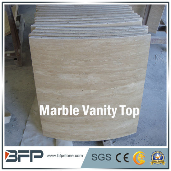 Marble Vanity Top for Bathroom with Polished Surface pictures & photos