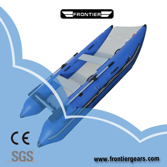 2019 High Quality 4.2m Inflatable High Speed Boats Catamaran Inflatable Boats
