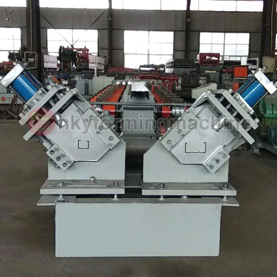 C Z Metal Purlin Interchangeable Roll Forming Machine Automatic C/Z Purlin Making Machinery with PLC Control