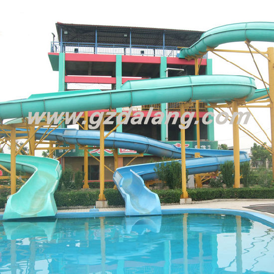 Swimming Pool Slide, Water Amusement Slide (DL-2011) pictures & photos