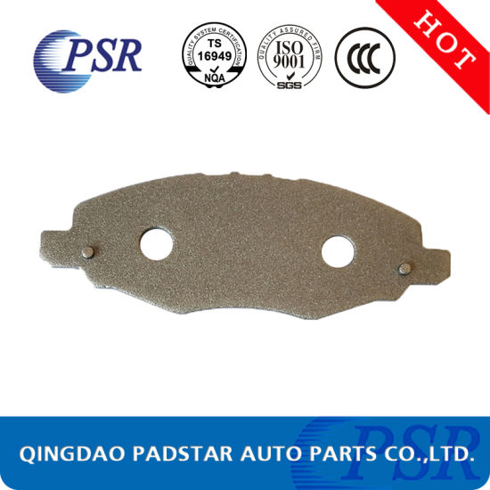 Heavy Duty Brake Pads Cast Iron Back Plate Supplier for Mercedes-Benz pictures & photos