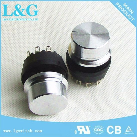 China Auto 2 10 Position Selector Switch Micro Rotary