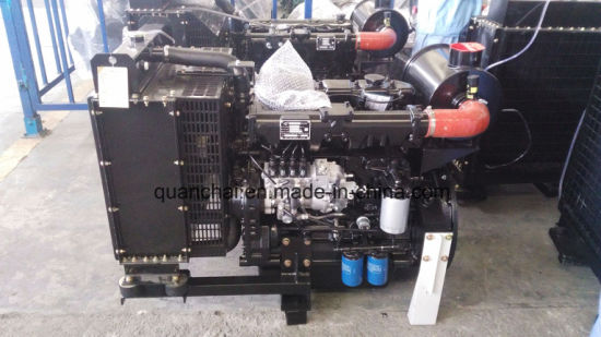 Water -Cooled Cummins Diesel Engine with 4 Cylinders