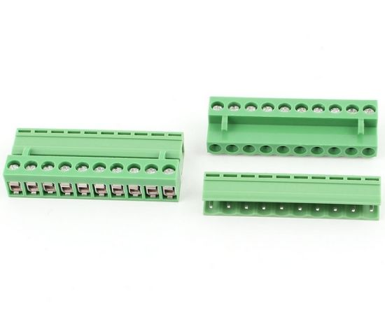 5 08mm PCB Screw Terminal Block Connector Pluggable in Type