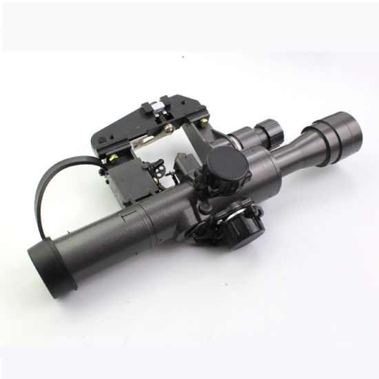Military Standard Riflescope with Svd 4X24-1 Red Illuminated Reticle Rifle Scope pictures & photos