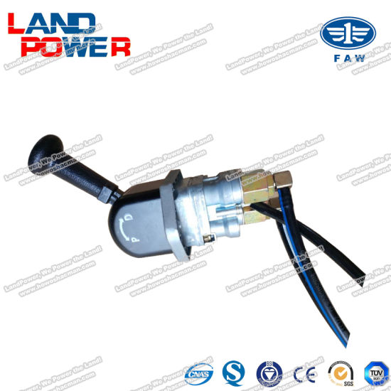 Hand Brake Valve Assembly FAW Tractor Truck Spare Parts Auto Parts