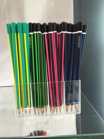 Hb Blacklead Pencil with Dipped End pictures & photos