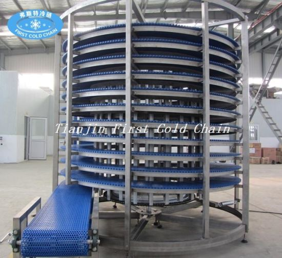 Stainless Steel Bread Hamburger Toast Spiral Cooling Tower pictures & photos