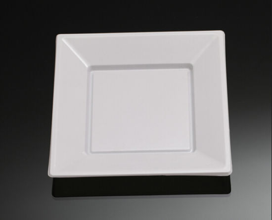Disposable Plastic Plate Round Square Shape Plate Dish Tray & China Disposable Plastic Plate Round Square Shape Plate Dish Tray ...