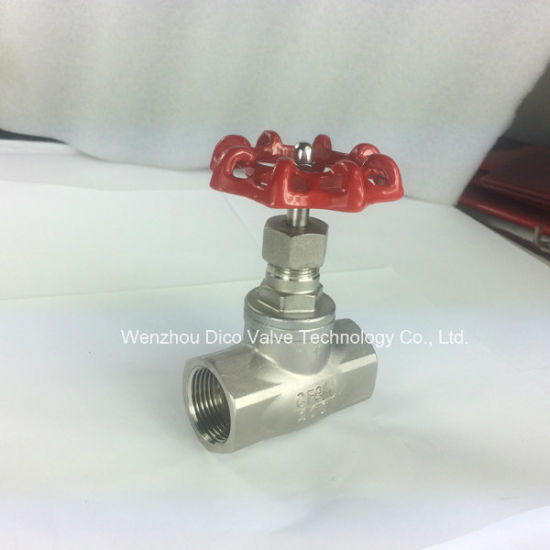 Stainless Steel Globe Valve 200wog Bsp Thread Ending pictures & photos