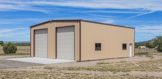 Steel Structure Tractor Shed, Prefab Storage Unit