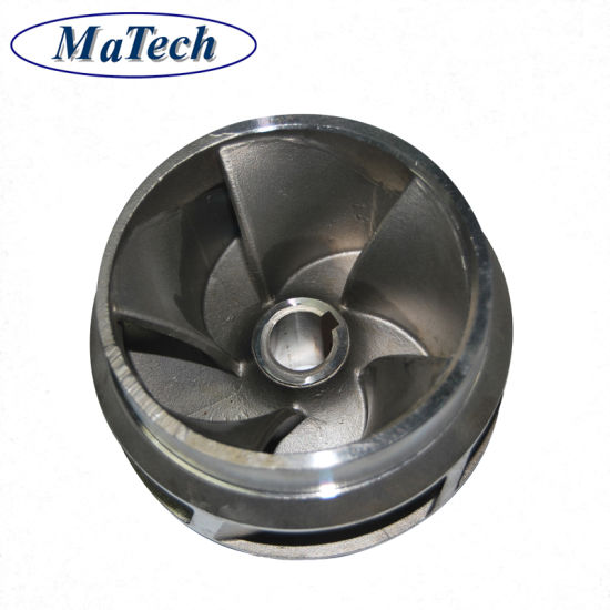 China Cast Foundry Custom Stainless Steel Water Pump Impeller