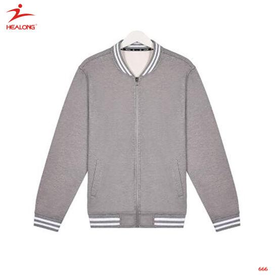 buy popular 6df2c 5865a Healong Sportswear Plain Man Baseball Jersey Custom Cheap Baseball Jacket