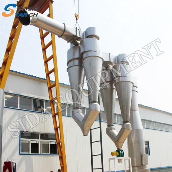China Cassava Dryer Starch Processing Machine in Nigeria
