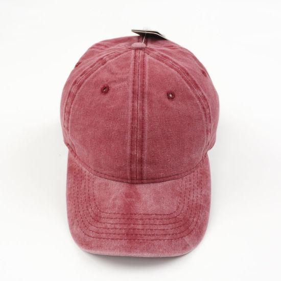 Promotional Cap Washed Cotton Twill Hats Customized Logo