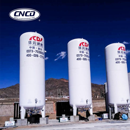Liquid O2 N2 CO2 Vertical Gas Container with ASME pictures & photos
