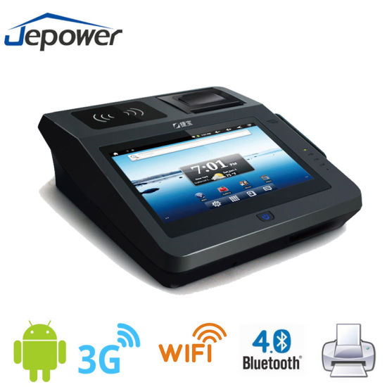 Android Credit Card Fingerprint Scanner All in One Touch POS