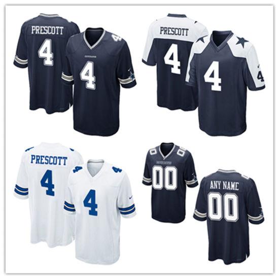 buy popular b10fc 718be China Men Women Youth Cowboys Jerseys 4 Dak Prescott ...