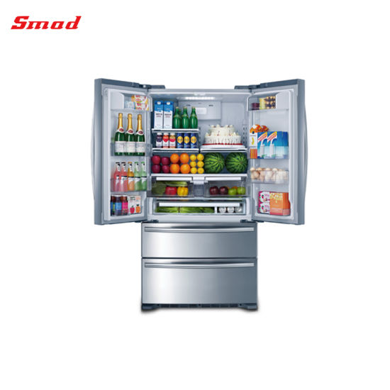 Household Bottom Mount French Door Refrigerator