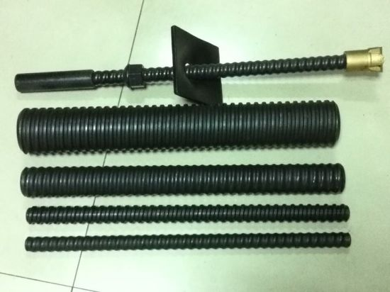 R32 R38 R51 Self Drilling Hollow Anchor Bolt System pictures & photos