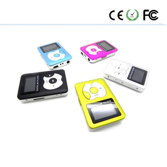 Manufacturers Wholesale MP3 Player with Screen Card Mini MP3 pictures & photos