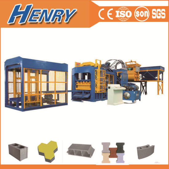 Qt8-15 Full-Automatic Hydraulic Hollow Concrete Block Making Machine in Bangladesh