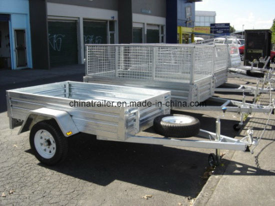 Hot Dipped Galvanised 8FT X 4FT Box Trailer with Ramp