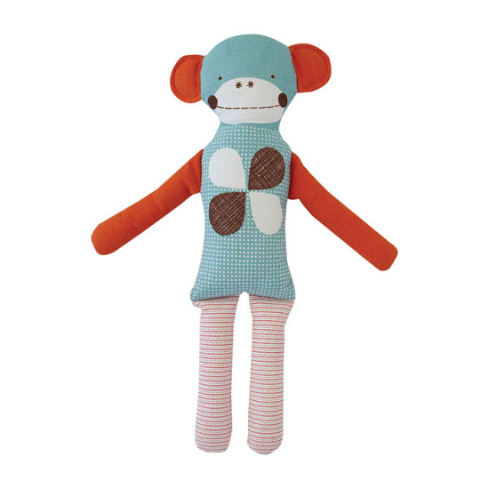 High Quality Cotton Fabric Soft Plush Baby Doll Toy Monkey Rag Doll pictures & photos