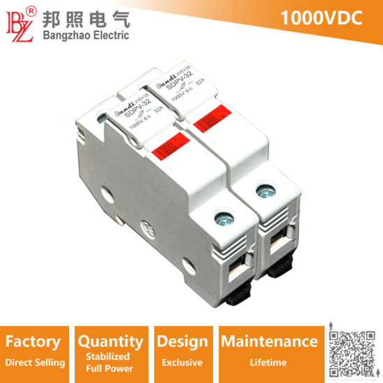 China High Voltage 1000V DC Fuse Block with 15A Fuse - China ... on