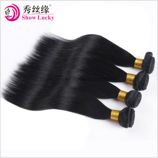 China Factory Directly Selling Remy Mongolian Human Hair Natural Color Healthy Silky Straight Hair Weft