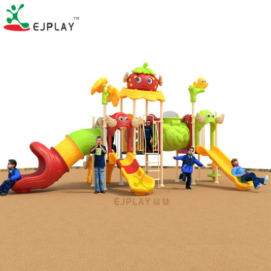 Chinese Cute European Standard Play Games Small Plastic Outdoor Playground