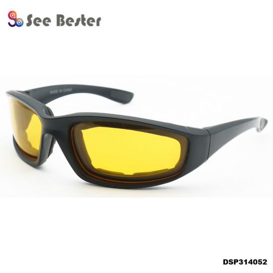 2fdb9f3dae8 HD Vision Wrap Arounds TV OEM Promotional Outdoor Sports Night Vision  Running Wear Plastic Sun Glasses