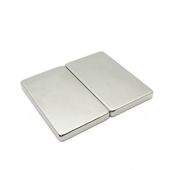 Strong Large NdFeB Rare Earth Block Neodymium Magnet for Printer