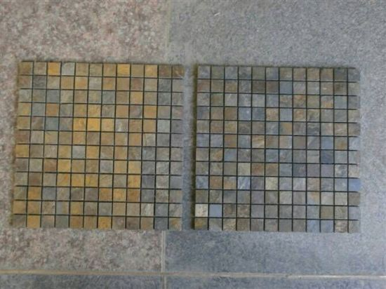 Rusty Slate Mosaic for Wall Cladding Tile pictures & photos