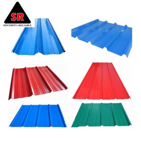 China 22 Gauge Corrugated Steel Roofing Sheet Corrugated