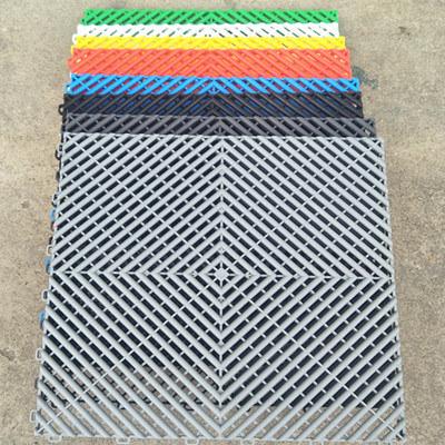 Used PVC Interlocking Garage Floor Tiles for Sale