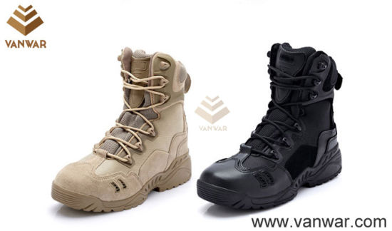 8b2b37cd723447 Breathable and Comfortable Tactical Military Boots of New Design (WTB029)  pictures & photos