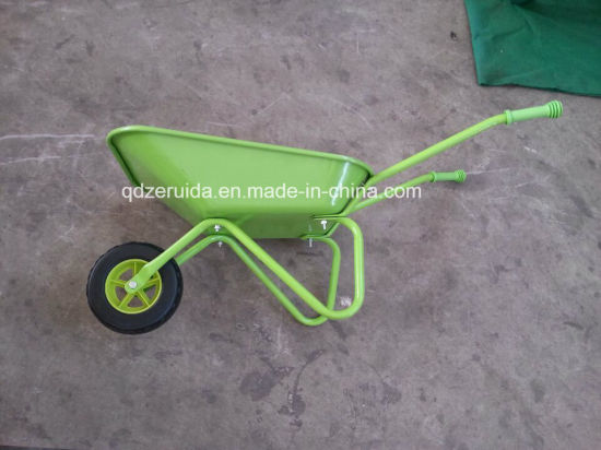 Small Wheel Barrow Toy for Children (WB0100) pictures & photos
